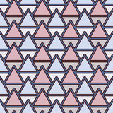Repeated triangles background. Simple abstract wallpaper with geometric figures. Seamless surface pattern. Repeated triangles on white background. Simple Royalty Free Stock Photos
