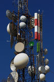 Repeater tower Stock Images