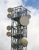 Repeater voor het communiceren met mobiele telefoons Stock Fotografie