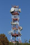 Repeaters antennas for mobile communication Stock Photo