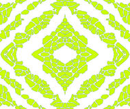 Repeating background. Green pattern wallpaper, repeating background Royalty Free Illustration