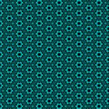 Repeating Background of Turquoise And Black Royalty Free Stock Photography