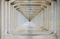 Repeating beams Stock Image