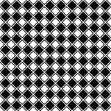 Repeating black white square pattern Royalty Free Stock Photos
