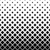 Repeating black and white square pattern Royalty Free Stock Photos
