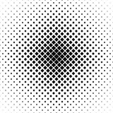 Repeating black white vector square pattern Royalty Free Stock Images