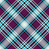 Repeating blue-violet pattern Royalty Free Stock Photos