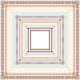 Repeating Borders Set. Set of repeating borders.  Main border elements and corner elements are both included for each border pattern.  Repeating borders are also Stock Photo