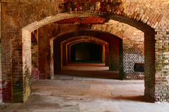 Repeating Brick Arches Royalty Free Stock Photo