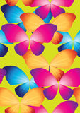 Repeating butterfly 1 Royalty Free Stock Photography