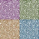 Repeating Circle Pattern Backg Stock Photo