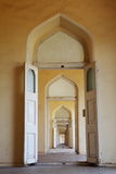 Repeating doors Royalty Free Stock Image