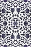 Repeating Floral Damask Stock Photo