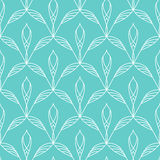 Repeating floral seamless pattern Royalty Free Stock Photography