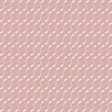 Repeating geometric modern stylish texture with in pink and white colors. Stock Photo
