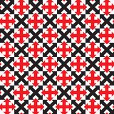 Repeating geometric seamless pattern. Vector Royalty Free Stock Photo