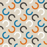 Repeating geometric seamless pattern. Vector illustration. Royalty Free Stock Photos