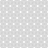 Repeating geometric tiles with chevron. Stock Photography