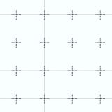 Repeating geometric tiles with squares Royalty Free Stock Photo