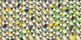 Repeating geometric tiles with triangles Stock Photo