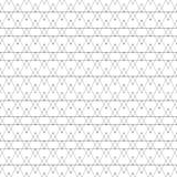 Repeating geometric tiles with triangles. Vector Stock Photography