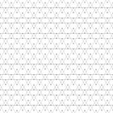 Repeating geometric tiles with triangles. Vector Royalty Free Stock Photos