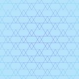 Repeating geometric tiles with triangles. Vector Royalty Free Stock Photography