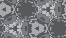 Repeating Gray Wallpaper Pattern Royalty Free Stock Image