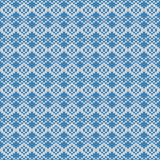 Repeating knitted seamless pattern Stock Photography