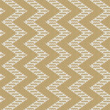 Repeating knitted seamless pattern with zigzag Royalty Free Stock Images