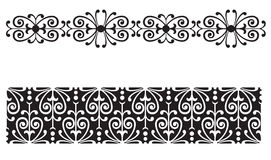 Repeating Lace Border Stock Photo