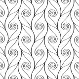 Repeating linear pattern Royalty Free Stock Images