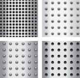 Repeating Metal Patterns Stock Image