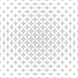 Repeating monochromatic star pattern background. Repeating monochromatic abstract curved star pattern background Royalty Free Stock Photography