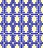 Repeating the original  decorative satin stitch Royalty Free Stock Photo