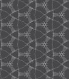 Repeating ornament dotted complex net Royalty Free Stock Photography