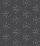 Repeating ornament dotted triangle stars Royalty Free Stock Image