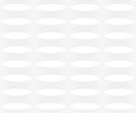 Repeating ornament horizontal line with ovals Stock Photography