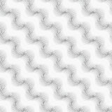 Repeating ornament many diagonal wavy lines Royalty Free Stock Images
