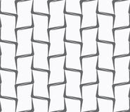 Repeating ornament vertical bamboo lines Stock Images