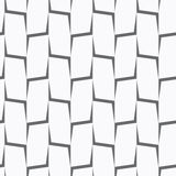 Repeating ornament vertical gray corners Royalty Free Stock Photos