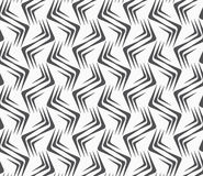 Repeating ornament vertical wavy corners Royalty Free Stock Images