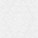 Repeating outlined mosaic circles, modern background Stock Images