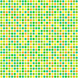 Repeating Pattern Polka Dots - Spring Royalty Free Stock Photography
