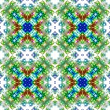 Repeating pattern of seamless abstractions Royalty Free Stock Images