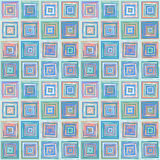 Repeating Pattern Squares. Repeating pattern of multi-colored squares.  Seamless design Stock Photos