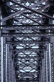 Repeating patterns on Steel Bridge Stock Photos