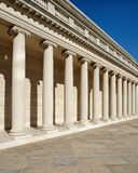 Repeating Roman columns Royalty Free Stock Image
