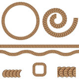 Repeating Rope Pattern Icon Stock Photography