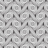 Repeating seamless pattern Stock Photography